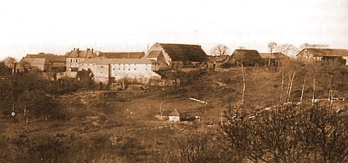 La ferme de Confrécourt avant la guerre. (image du Net)