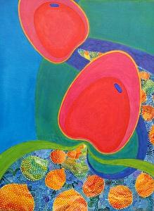 Germination 3 (65cm x 50 cm)