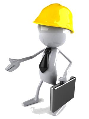 Ingénieur travaux à votre écoute pour la réalisation de vos projets.